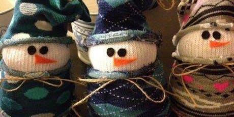snowman making class (sock snowman) AM Class 2019 tickets