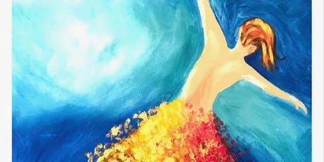 Golden Fairy - Step by step painting class in Doncaster (Dine in) tickets