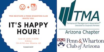 TMA NextGen + yPenn of the Penn & Wharton Club Happy Hour