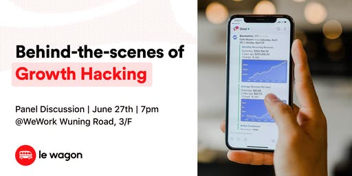 [Panel Discussion] Behind-the-scenes on Growth Hacking