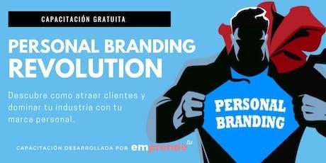 Personal Branding Revolution: Como convertirte en Influencer. entradas