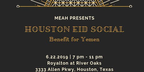 Houston Eid Social tickets