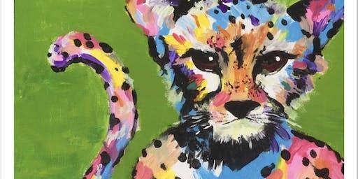 Paint a stunning Cheetah in Albert Park (BYO)
