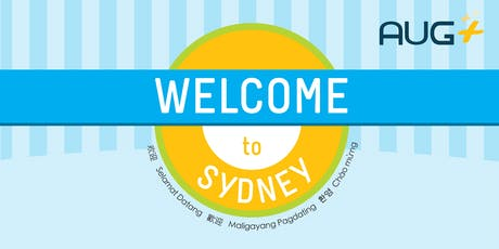 AUG Plus Sydney New Students Welcome Day, Sem 2, 2019 tickets