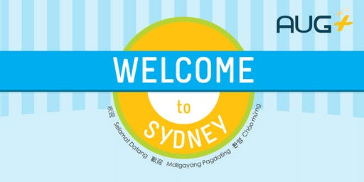 AUG Plus Sydney New Students Welcome Day, Sem 2, 2019