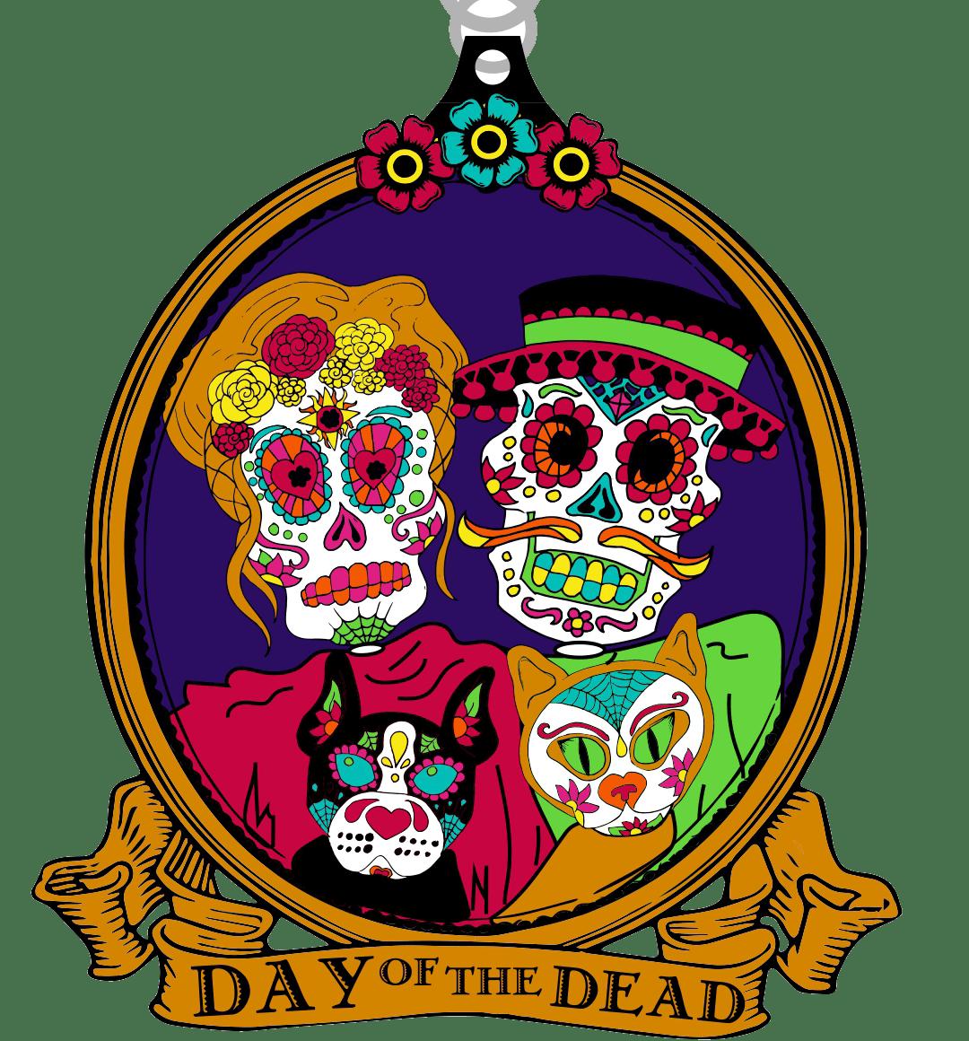 2019 Day of the Dead 1 Mile 5K 10K 13.1 26.2 - Houston
