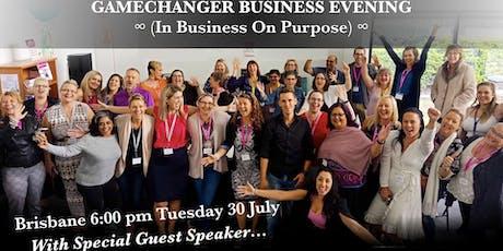 Gamechanger Business Evening tickets