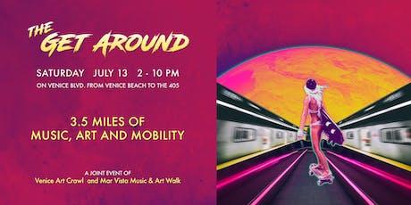 The Get Around - a 3.5 mile summer art fest billets
