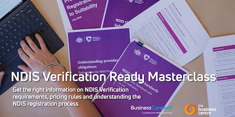 NDIS Verification Audit Ready Masterclass - Albury tickets