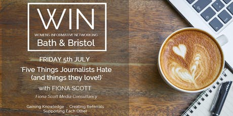 WIN Networking - Getting to grips with PR and Storytelling though Media tickets