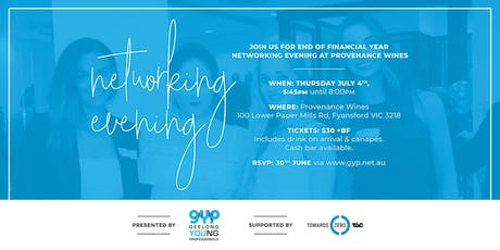 GYP Networking Evening at Provenance Wines tickets