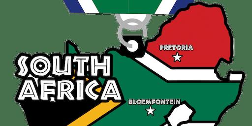 2019 Race Across South Africa 5K, 10K, 13.1, 26.2 -Des Moines