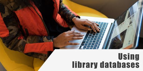 Using Library Databases tickets