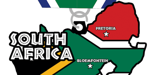 2019 Race Across South Africa 5K, 10K, 13.1, 26.2 -Omaha