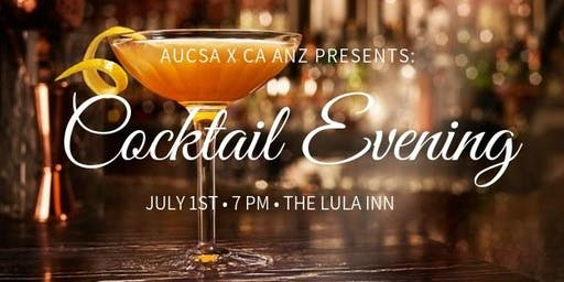 AUCSA x CA ANZ Presents: Cocktail Evening