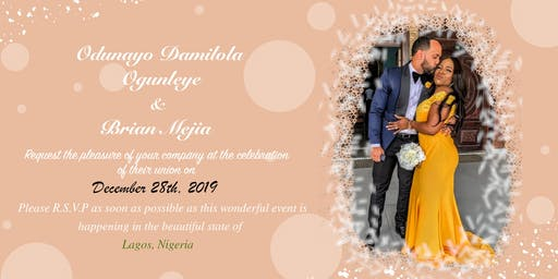 Odunayo & Brians' Wedding