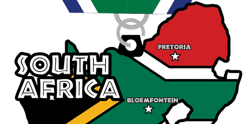 2019 Race Across South Africa 5K, 10K, 13.1, 26.2 -Raleigh
