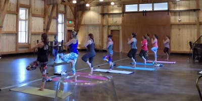 Yoga in the Barrel Room