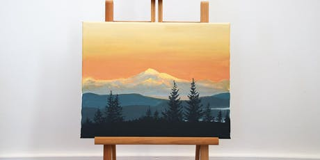 "Father's Day Special Paint Day Workshop ""Mount Baker Sunset"" tickets"
