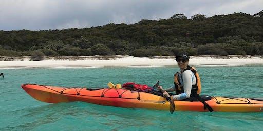 Women's Easy Sea Kayaking // Saturday December 7th