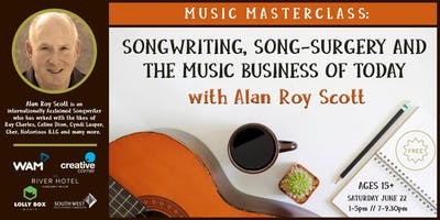 Music Masterclass: Alan Roy Scott on Songwriting & Music Business Today.