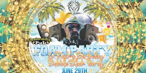 G Rock's Birthday Bubble Block Party