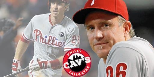 Phillies Chase Utley Tailgate Party