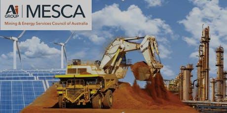 MESCA PERTH Briefing: Woodside Energy & Alinta Energy tickets