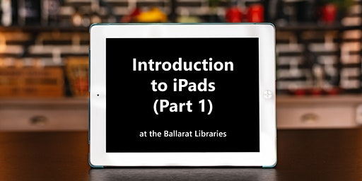 Introduction to iPads - Part 1