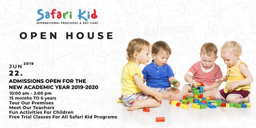 Open House- Safari Kid Kalyan Nagar