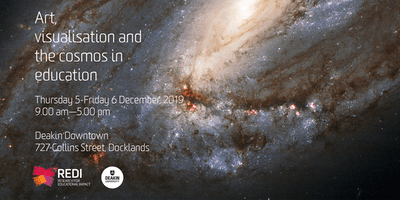 Art, visualisation and the cosmos in education