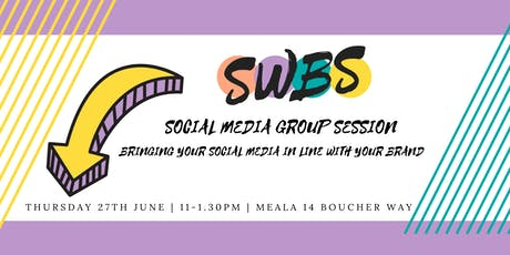Social Media Group Session tickets
