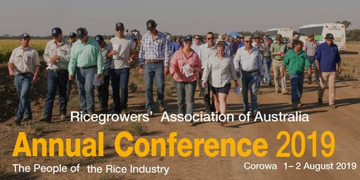 "RGA 2019 Annual Conference:  ""The People of the Rice Industry"""
