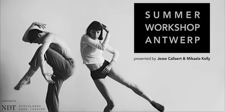 Summer Workshop Antwerp 2019 tickets