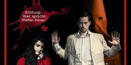 """Mona und Kris Köhler: Edgar Wallace """"Der Mönch mit der Klatsche"""" Tickets"""