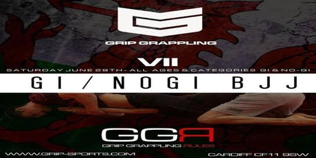 GRIP Grappling VII  |  Gi & No-Gi tickets