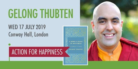 A Monk's Guide to Happiness - with Gelong Thubten tickets