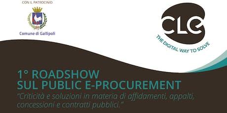 Roadshow su Public e-Procurement biglietti