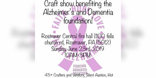 Remembering Betty, Craft show for the Alzheimer's foundation!