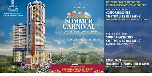 Supertech Summer Carnival at Sector 74 Noida