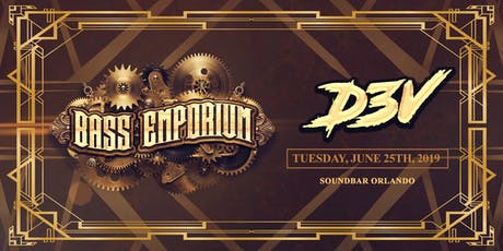 The Bass Emporium Presents D3V tickets