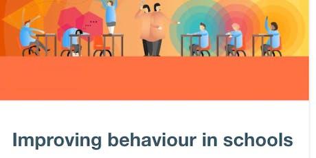 Oldham Research School - EEF guidance on Improving Behaviour in Schools tickets
