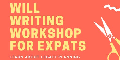 Free Will Writing Workshop for Expats in Singapore tickets