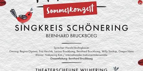Sommerkonzert Singkreis Schönering VIELEN DANK FÜR DIE BLUMEN Tickets