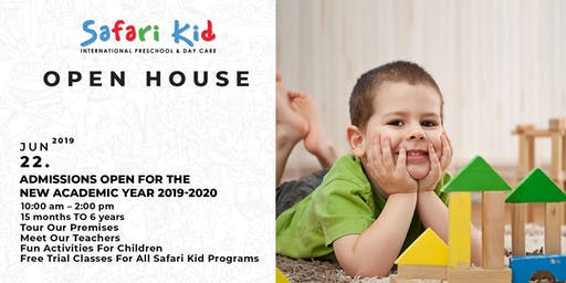 Open House- Safari Kid HSR