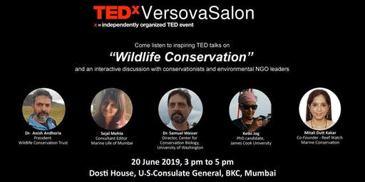 TEDxVersovaSalon- Wildlife Conservation
