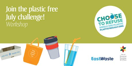 Find out how to go Plastic Free in July! tickets