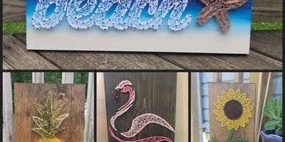 String Art class with Lisa Hackettstown