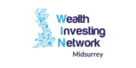 Debbie Franklin & Chris Poore with Midsurrey Wealth Investing Network tickets
