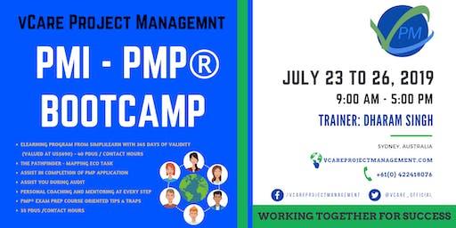 PMP Training | Sydney | Australia | July | 2019 | vCare Project Management